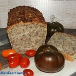 Chleb pszenny z ziarnami ...