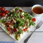 Salatka z rukoli i awokad...
