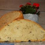 Chleb z sezamem na drozdz...