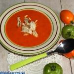 Zupa pomidorowa z jablkam...
