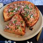 Placek pomidorowo - fasol...