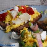 Kanapki z jajecznicą...