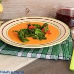 Zupa z dyni ze szpiankiem