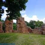 Ruiny zamku w Raciążku...