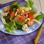 Sałatka a la panzanella