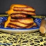 Jogurtowe placki z mango