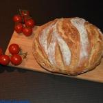 Chleb bez wyrabiania z...