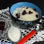 Zupa mleczna z tapioki