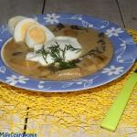 Szumawska zupa grzybowa...