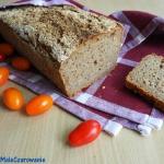 Chleb żytni razowy na...