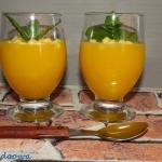 Kisiel z mango