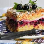 Ciasto z kruszonki z czar...