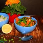 Kolorowe curry z dynia