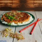 Omlet z mielona wieprzowi...