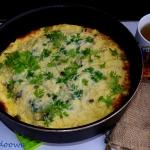 Omlet z groszkiem,...