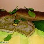 Chleb ze szpinakiem i awo...
