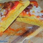 Pizza dyniowa z chorizo i...
