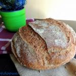 Chleb pszenny na dzikich...