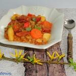 Hiszpanska zupa z soczewi...