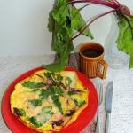 Omlet z botwinką