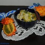 Pudding ryzowy z kiwano
