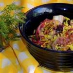 Salatka z osmiornicy z ry...
