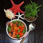 Kalamarnica w warzywach