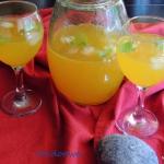 Lemoniada miodowo - bazyl...