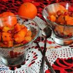 Salatka z papai i mandary...