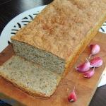 Chleb pszenny z czosnkiem...
