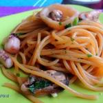 Spaghetti aglio, olio e...