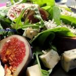 Salatka z figami i serem ...