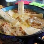 Zupa serowo-grzybowa