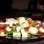 Salatka z rukoli i dyni