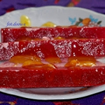 Mrozony deser z truskawka...