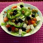 Moja salatka grecka