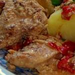 Filet z kurczaka w...
