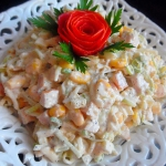 Salatka z Wedzonym Kurcza...