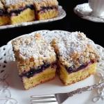 Ciasto Drozdzowe z Jagoda...