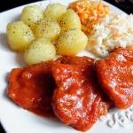 Schab w Sosie Pomidorowym...
