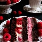 Tort Czekoladowy z Malina...