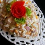 Salatka z Szynka i Ananas...