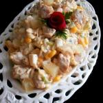 Salatka z Kurczakiem i An...