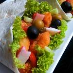 Tortilla z Krewetkami