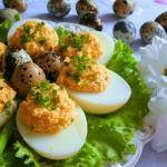 Jaja faszerowane Pastą...