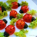 Biedronki z Pomidorkow Ko...