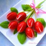 Tulipany z Pomidorków...
