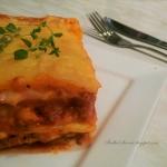 Lasagne z Mięsem, Sosem...