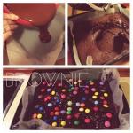 Brownie z M&Ms