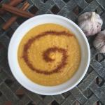 Zupa z pieczonej dyni na...